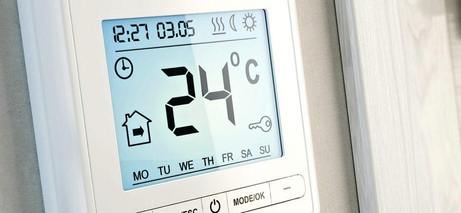 Комфортная температура дома