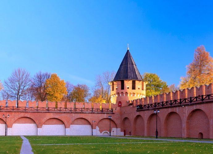 Тульский кремль осенью