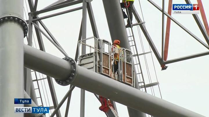 В Туле скоро откроется новое колесо обозрения