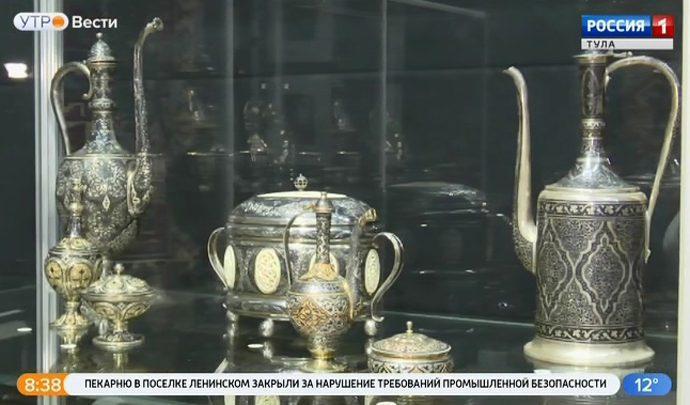 В Туле представили ювелирные шедевры мастеров Дагестана