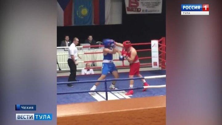 Тульский боксёр стал победителем турнира в Праге