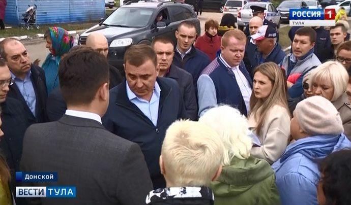 Алексей Дюмин в Донском дал установку растить чемпионов