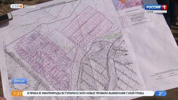 В Тульской области в ЕГРН внесено 36% населенных пунктов