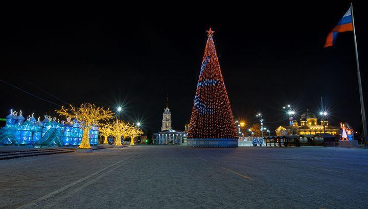 Главная ёлка региона откроется в Туле 27 декабря