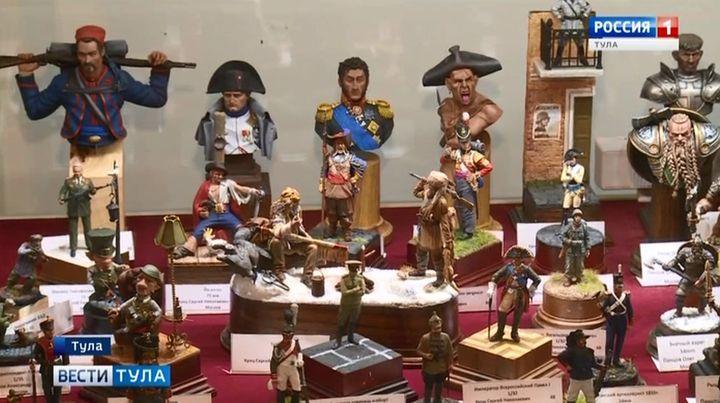 В Туле открылась выставка военной истории в миниатюре