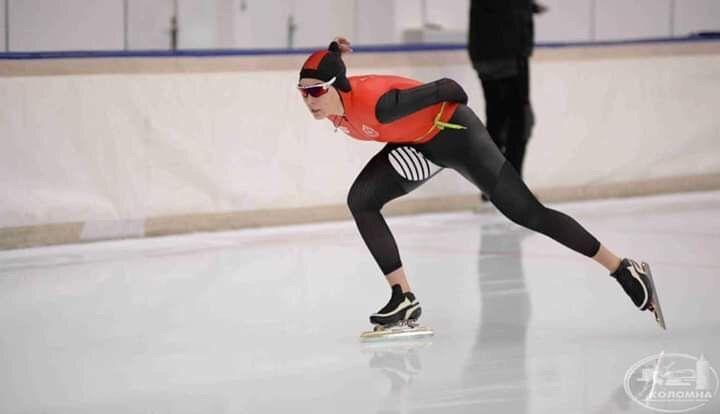 Представительница Тульской области взяла два «серебра» в Коломне на Кубке по конькобежному спорту