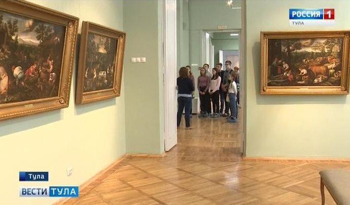 В Тульской области музеи пришли в школы