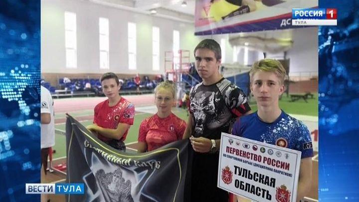 Тульские бойцы завоевали пять медалей на первенстве России по панкратиону