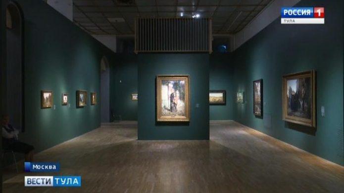 Работы Василия Поленова выставлены в Третьяковской галерее