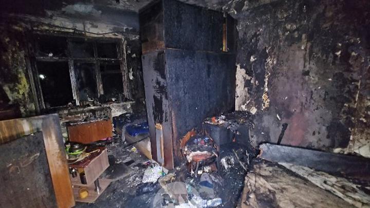 Пожар унес жизнь пожилого туляка