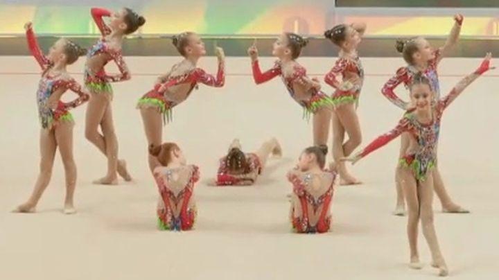 Гимнастки тульского клуба «Роксэт» завоевали две золотые медали в Эстонии