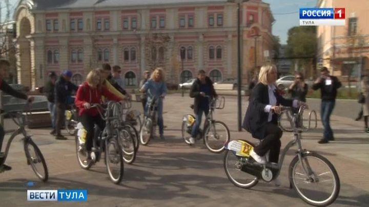 В Туле заработал велошеринг