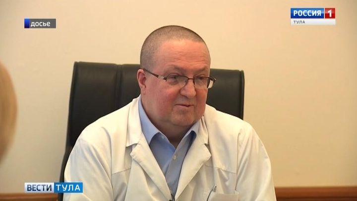 Александр Симонов покинул пост президента Тульской областной больницы