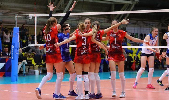 Волейболистки «Тулицы» одержали три победы на старте чемпионата Высшей лиги «А»