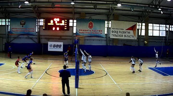 Волейболистки «Тулицы-2» в трёх партиях стали сильнее «Балтийской волны»