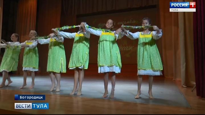 Богородицкие танцоры покорили Рязань