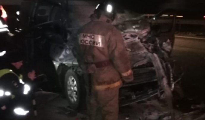 В ДТП на трассе «Дон» пострадали восемь человек