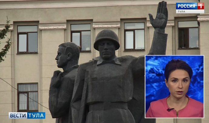 Ремонтные работы на площади Победы в Туле  проведут  в два этапа