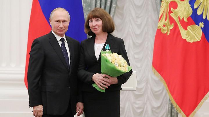 Владимир Путин вручил орден тулячке