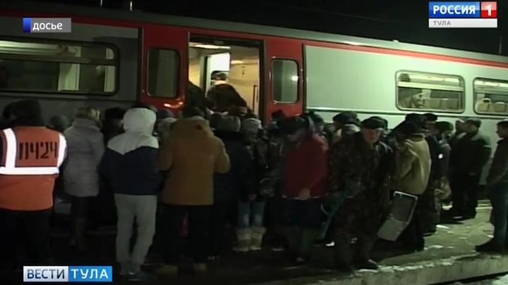 Два новых вечерних поезда свяжут Москву и Тулу
