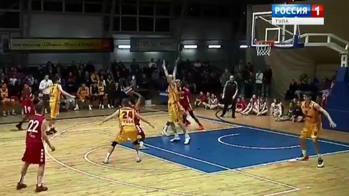Баскетболисты «Арсенала» одержали победу в первом домашнем матче Евразийской лиги