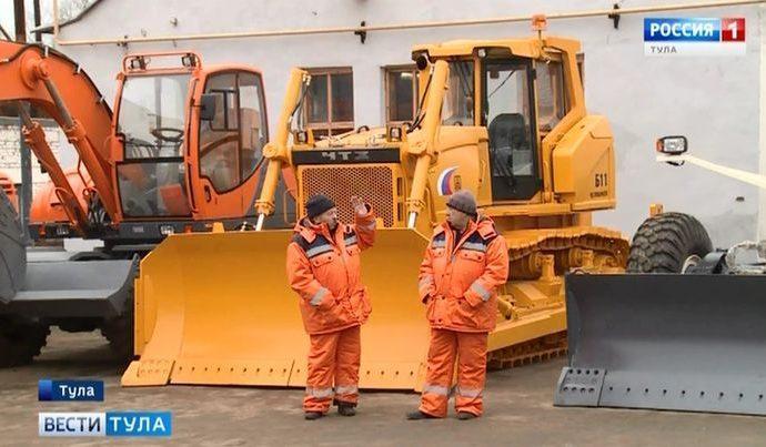 В Тульской области обновлён автопарк дорожной техники