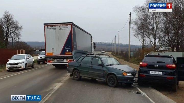 В ДТП на дороге Тула – Новомосковск пострадал ребёнок