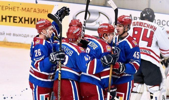 Хоккеисты «Академии Михайлова» выиграли матч против «Олимпии»
