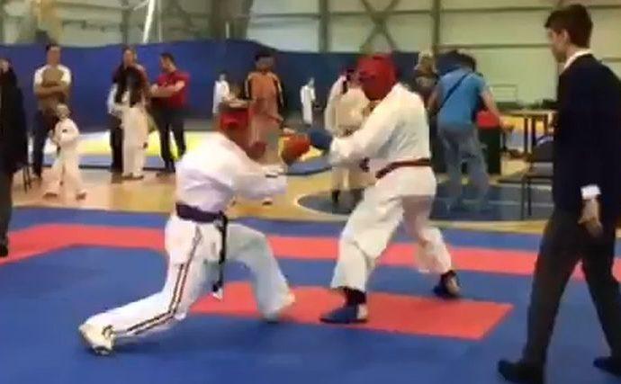 Тульские каратисты завоевали более 60 медалей на «Кубке чемпиона»