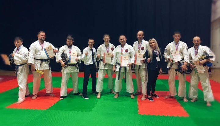Тульские единоборцы завоевали три медали чемпионата России