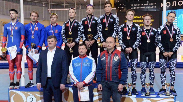 Тульский конькобежец стал победителем чемпионата России