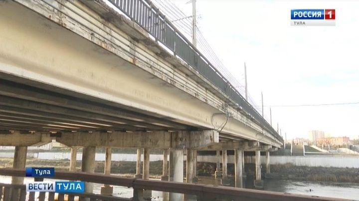 В Туле продолжаются работы по реконструкции мостов