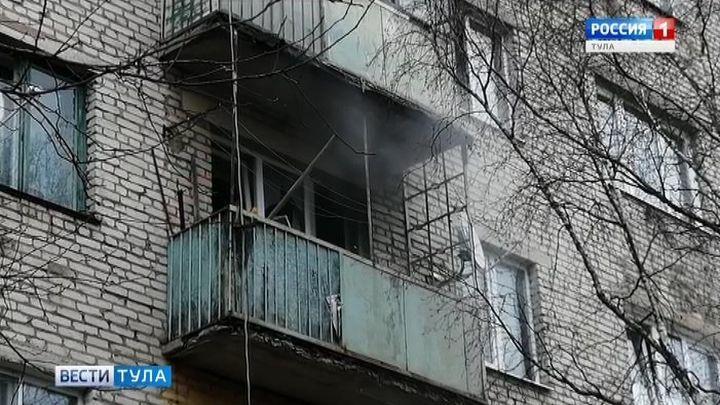 В Ясногорске пятилетний ребенок задохнулся в дыму