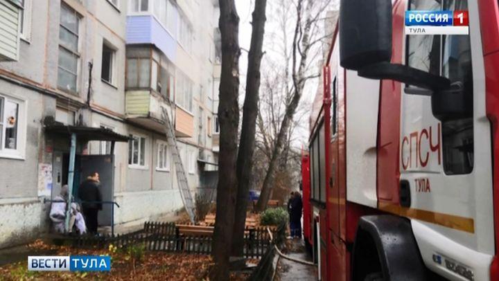 В Туле в огне погибла пенсионерка