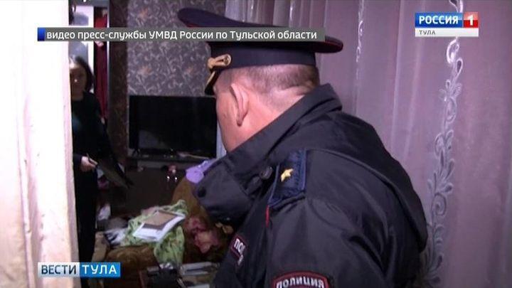 В Киреевском районе по горячим следам задержан подозреваемый в разбое