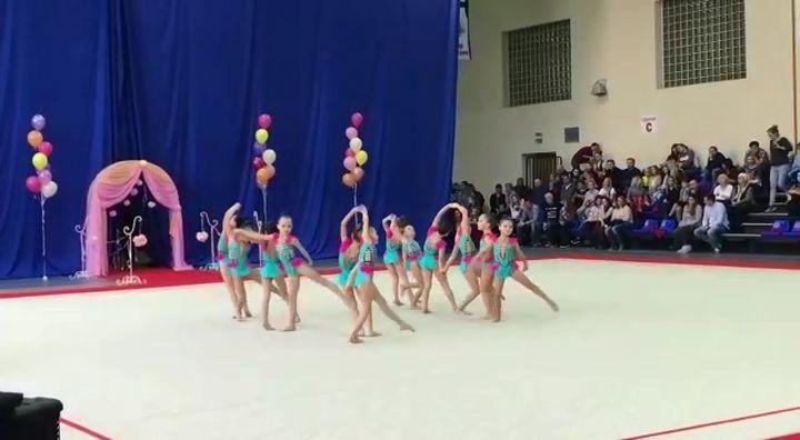 Гимнастки «Роксета» завоевали четыре первых места в Смоленске