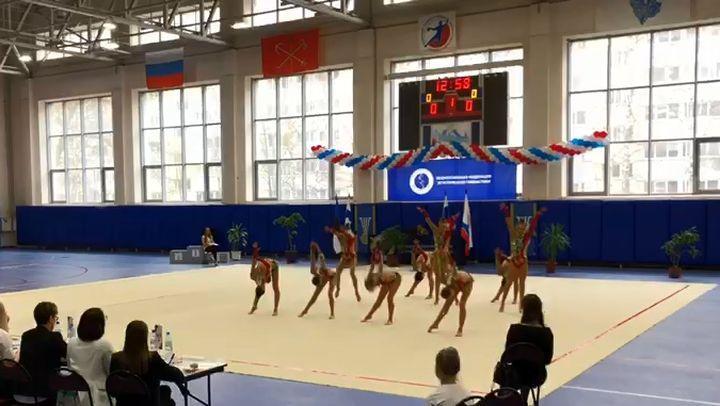 Гимнастки «Роксета» завоевали полный комплект медалей турнира «Невские звёзды»