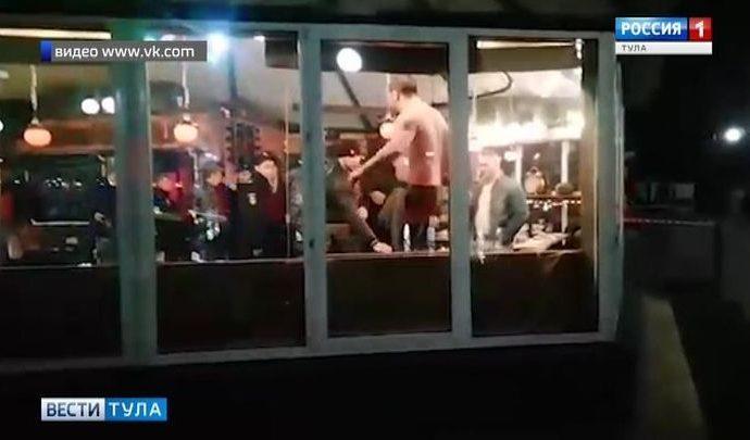 Региональное управление следственного комитета даст оценку действиям полицейских во время инцидента в тульском кафе