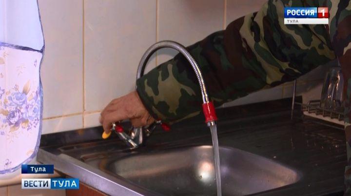 Чистая вода полилась из кранов в киреевской Брусяновке