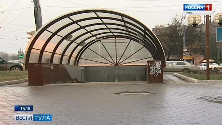 В Туле ремонтируют ещё один подземный переход