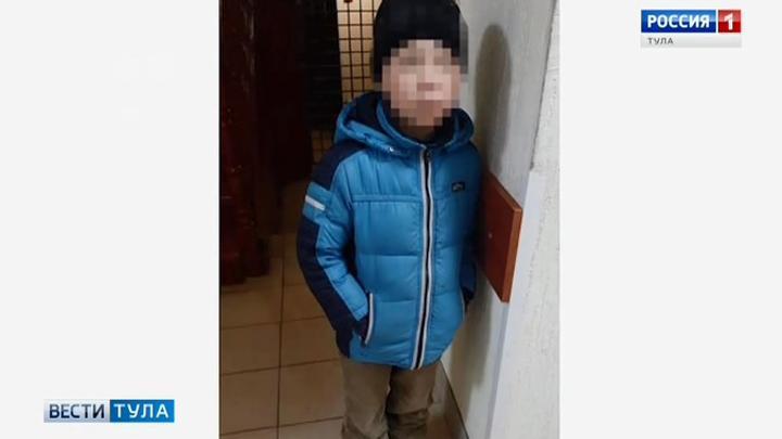 Тульские росгвардейцы помогли ребенку отыскать дом