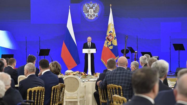 Алексей Дюмин принял участие в торжественном приеме в Кремле