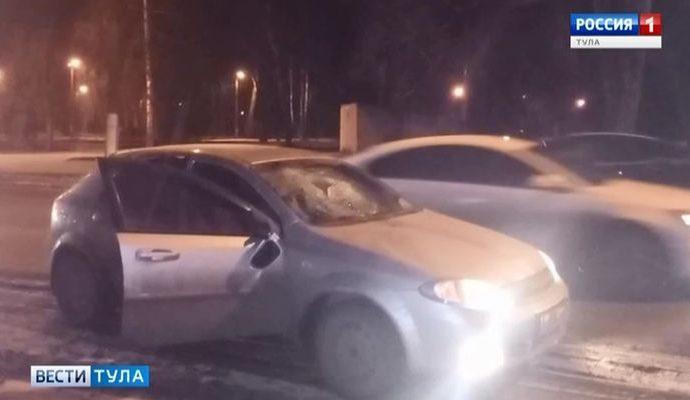 В Новомосковске под колёса «Шевроле» попал мужчина