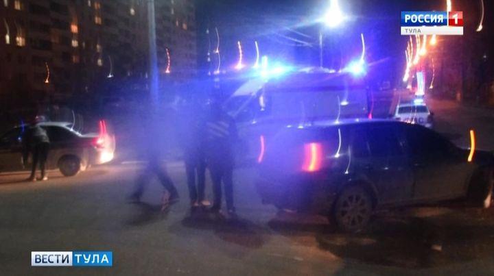 Трое детей пострадали в ДТП в Тульской области за выходные