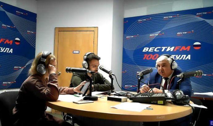 Директор Тульского филиала  «РЭУ им. Г. В. Плеханова» Николай Калинин. 02.12.2019