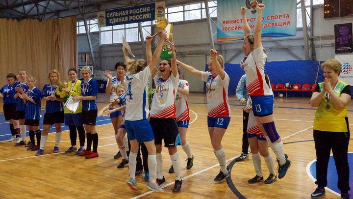 «Авангард» стал чемпионом Тульской области по мини-футболу среди женщин