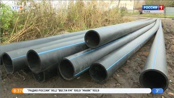 В Донском прокладывают новый водовод