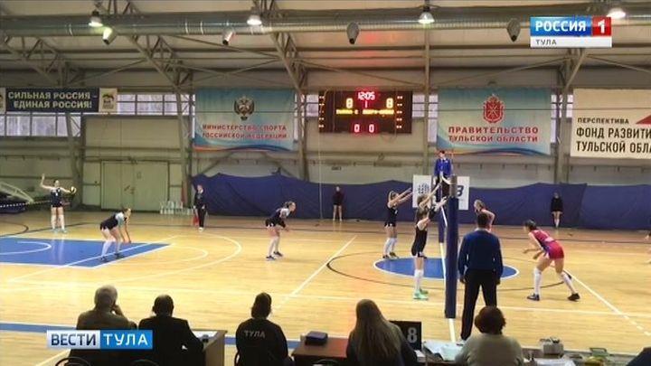 Волейболистки команды «Тулица-2» одержали две победы