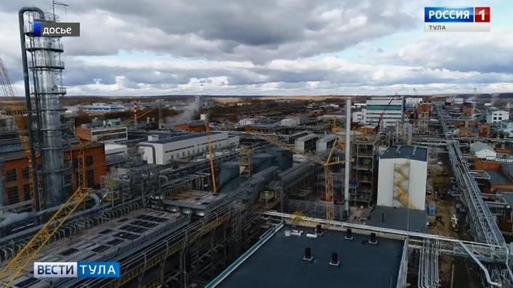 Рост тульской промышленности в среднем  опережает общероссийский