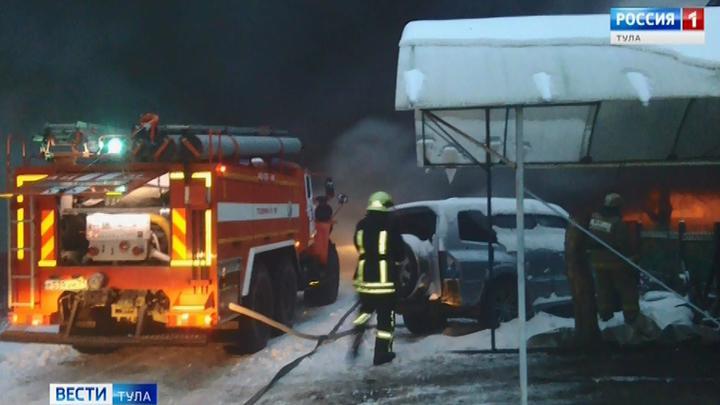 В Первомайском сгорел жилой дом